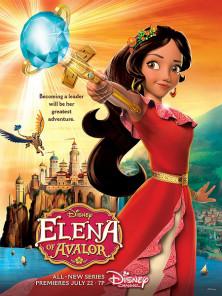 艾莲娜公主第一季海报