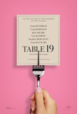 婚宴桌牌19号海报