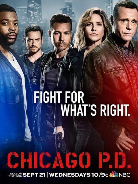 芝加哥警署第四季海报
