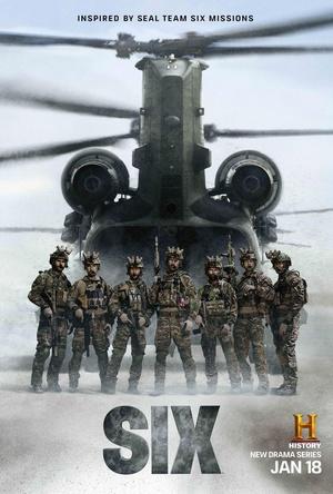 海豹六队第一季海报