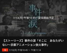 你已不在那里:京都动画纵火事件海报
