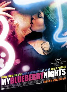 蓝莓之夜普通话海报