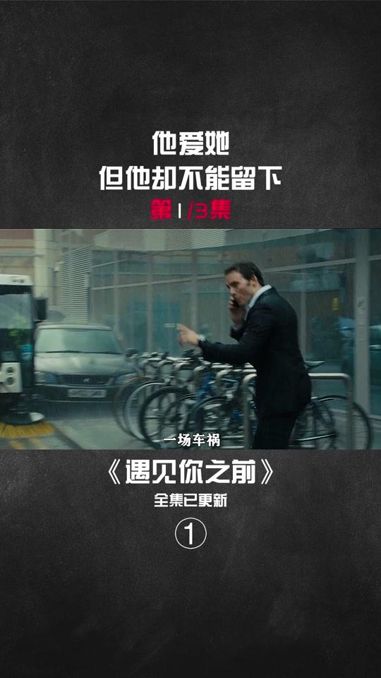 说电影《遇见你之前》海报