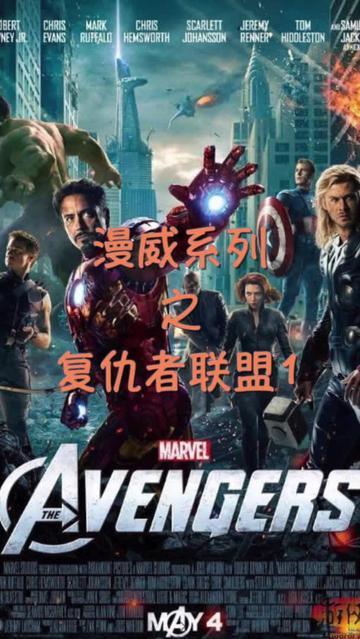 说电影《复仇者联盟》海报