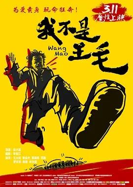 说电影《我不是王毛》海报