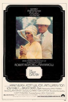 了不起的盖茨比1974海报