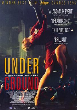地下1995海报