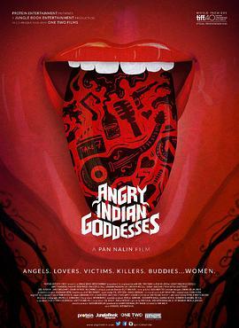 愤怒的印度女神海报